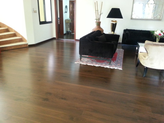 Laminate Parquet Flooring Interspace Dubai